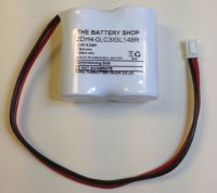 2DH4-0LC3-GL149R Battery 2.4v 4.0Ah Ni-Cd From £6.33 EX VAT Buy Online from The Battery Shop